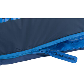Sea to Summit Trek TkII Sleeping Bag Regular Wide denim/navy